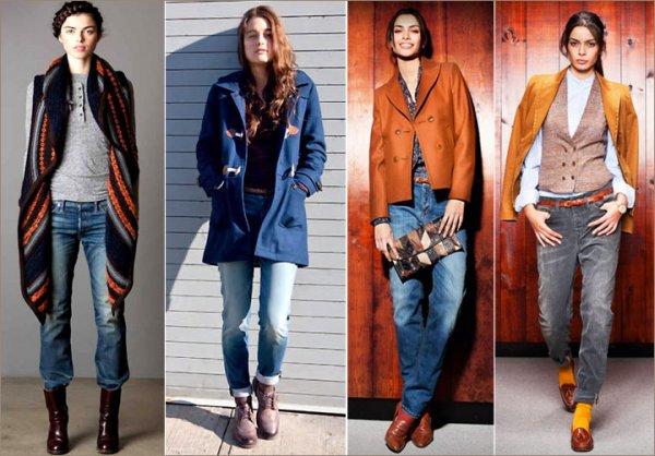 Стилисты поделились, как правильно носить джинсы этой осенью