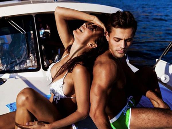 Блёданс после развода отдыхает на яхте с мускулистым красавцем