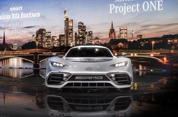 Производство гиперкара Mercedes-AMG Project One могут наладить в Великобритании
