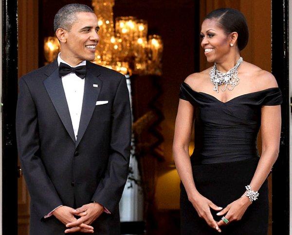 Мишель Обама мило поздравила супруга с серебряной свадьбой