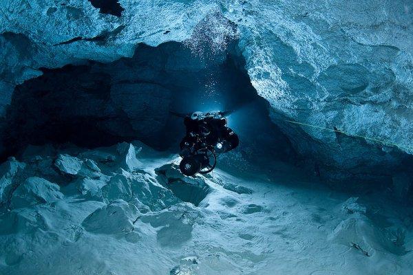 Подводная пещера в Башкирии претендует на звание самой длинной в России