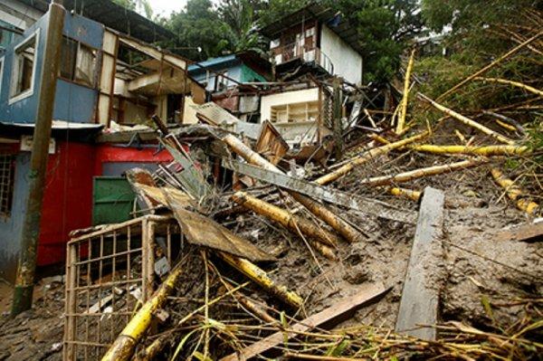 В результате шторма «Нейт» в Никарагуа и Коста-Рике погибли более 20 человек