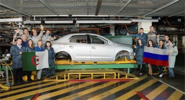 Renault увеличит поставки кузовов российской сборки в Алжир