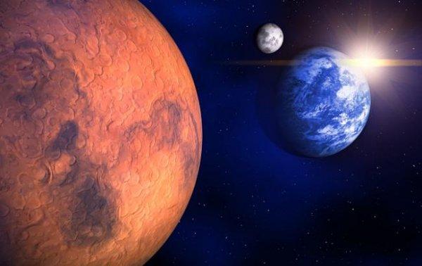 Ученые доказали, что жизнь на Марсе погибла из-за Солнца: Живые организмы Красной и Голубой планет эволюционировали одновременно