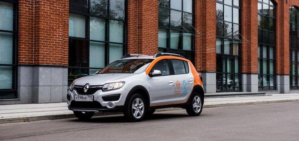 Renault Sandero Stepway стал доступен для московского каршеринга