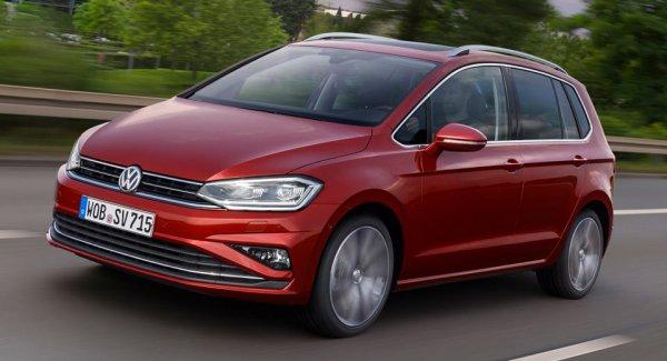 Volkswagen озвучил цены на рестайлинговый Golf Sportsvan