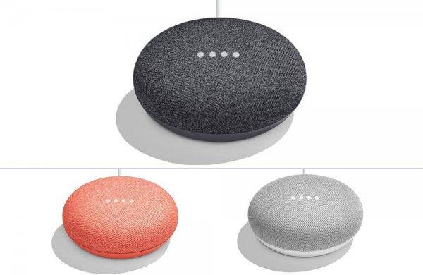 Начались продажи смарт-колонки Google Home Mini