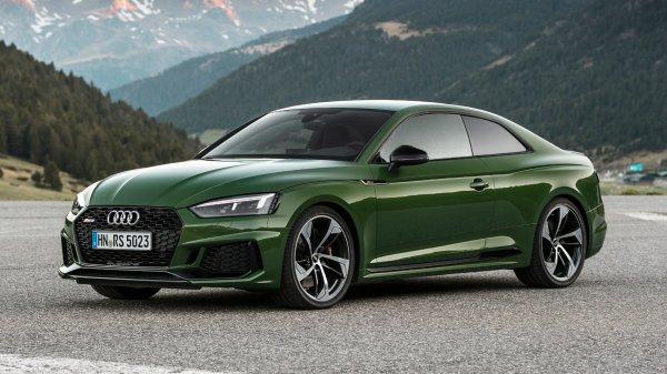 Эксперты испытали спортивное купе Audi RS5 с атмосферным мотором