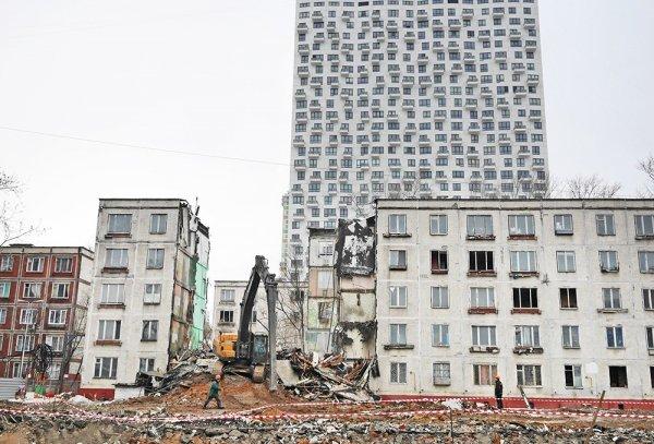 Для реновации жилья в Москве власти нашли еще пять стартовых площадок