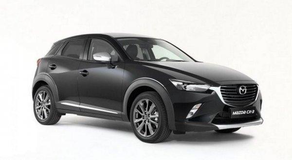 Разработана лимитированная версия кроссовера Mazda CX-3