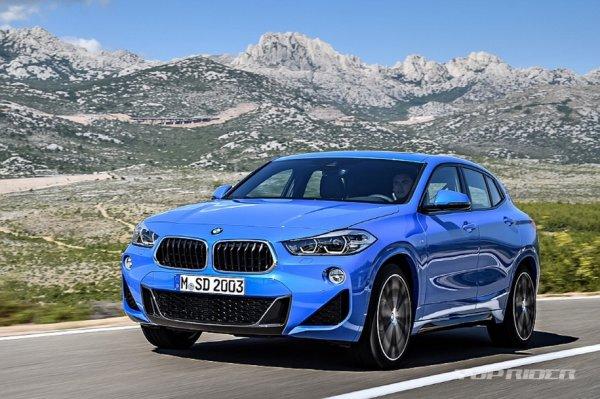 В сеть «просочились» фото нового купеобразного кроссовера BMW X2