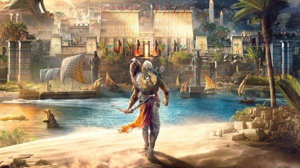 Из-за DRM-защиты Assasin's Creed: Origins выросла нагрузка процессора