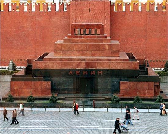 Москвичи несмогут попасть вмавзолей Ленина вдень 100-летия Октябрьской революции