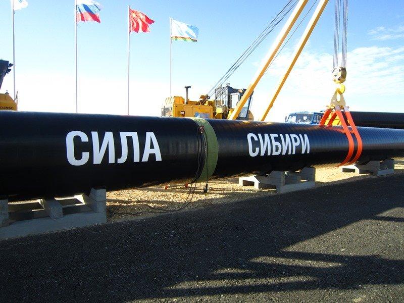 «Газпром» построил 1120км газопровода «Сила Сибири»
