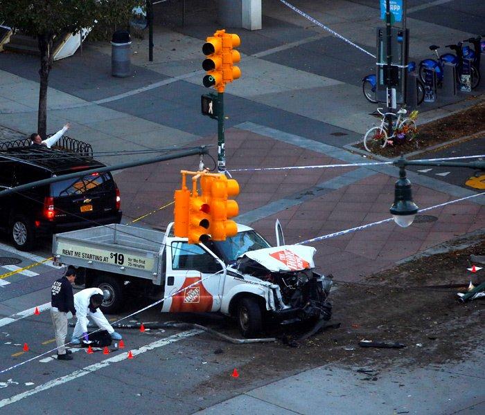 Посольство США вУзбекистане уже включилось врасследование теракта вНью-Йорке