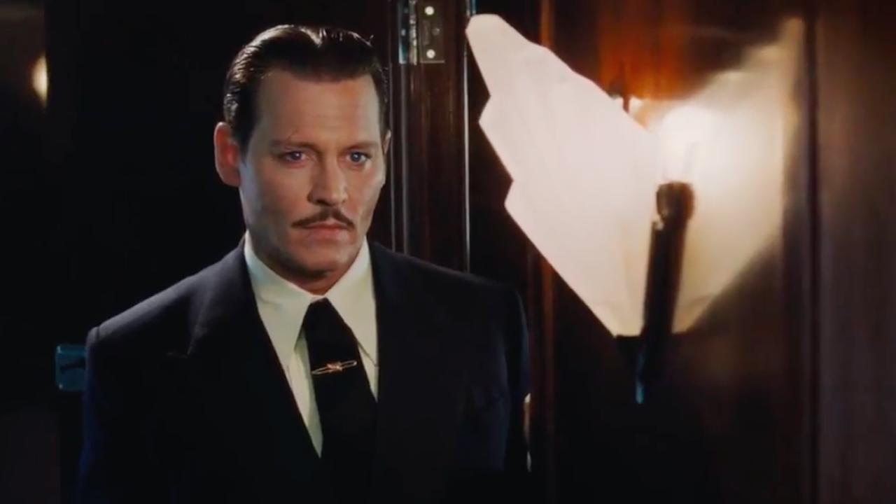 Джонни Депп явился напремьеру фильма встолице Британии внетрезвом виде