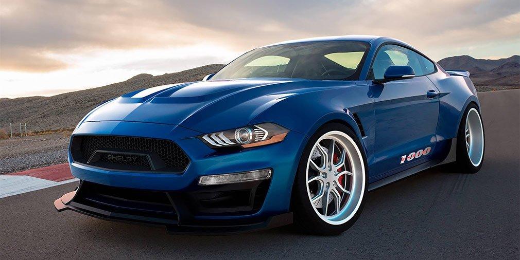 Shelby выпустил трековый 1000-сильный суперкар Ford Mustang