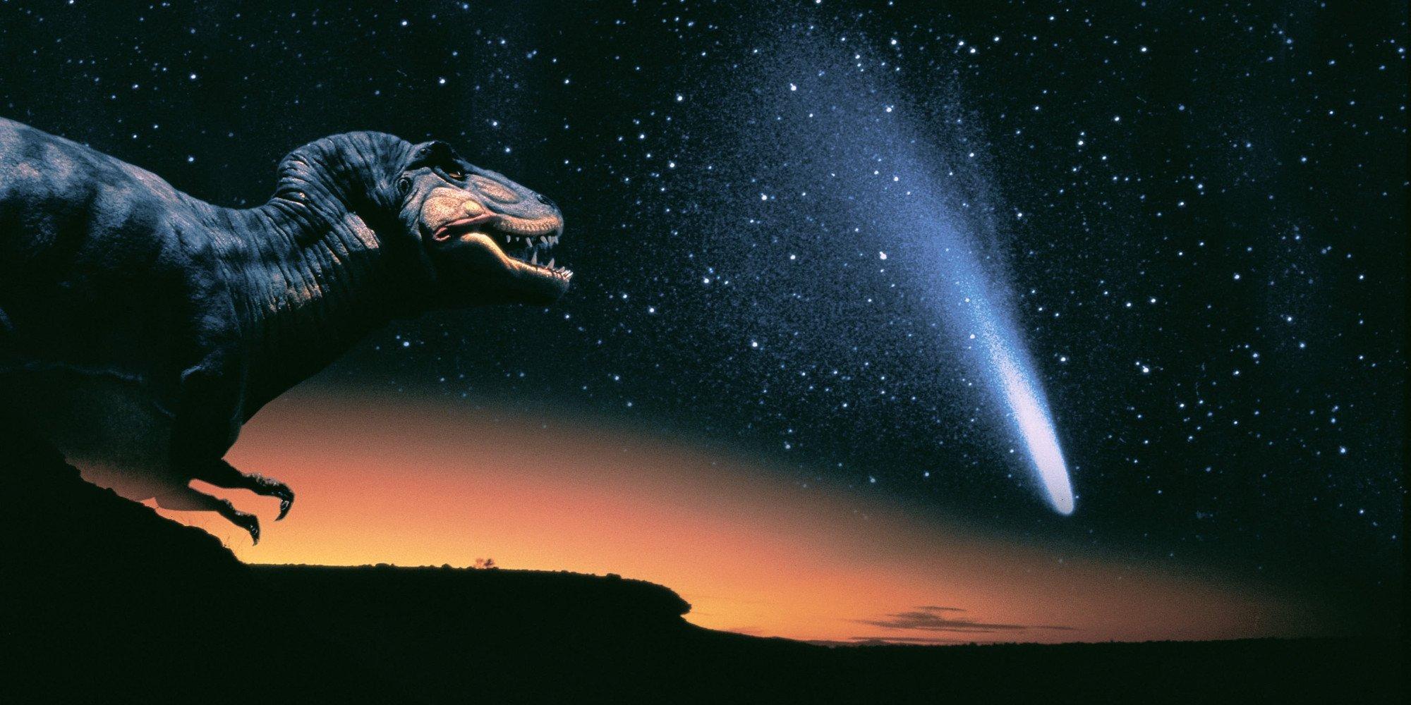 Погубивший динозавров астероид доставил наЗемлю средство отрака