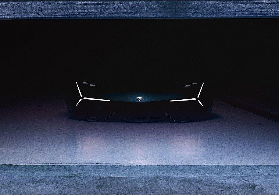 'суперкара будущего от Lamborghini