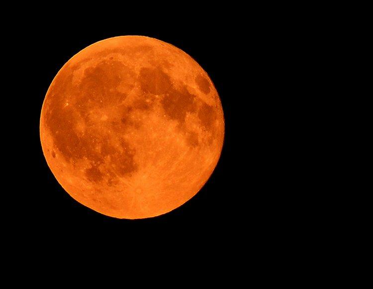 Луна максимально приблизилась кЗемле— Редкое явление