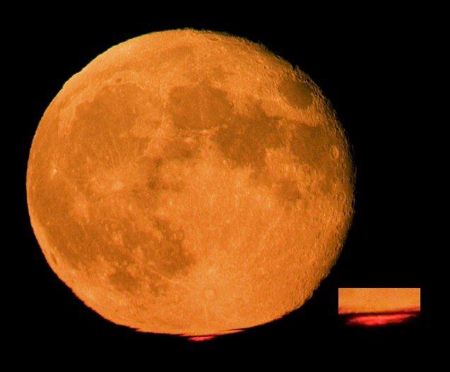 Луна приблизится кЗемле намаксимально близкое расстояние 4ноября