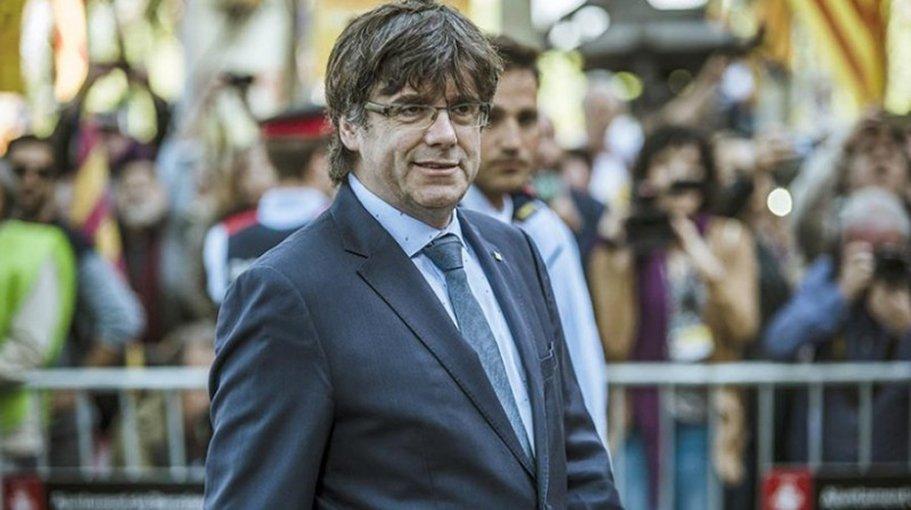 Экс-глава Каталонии Пучдемон сдался милиции  Бельгии