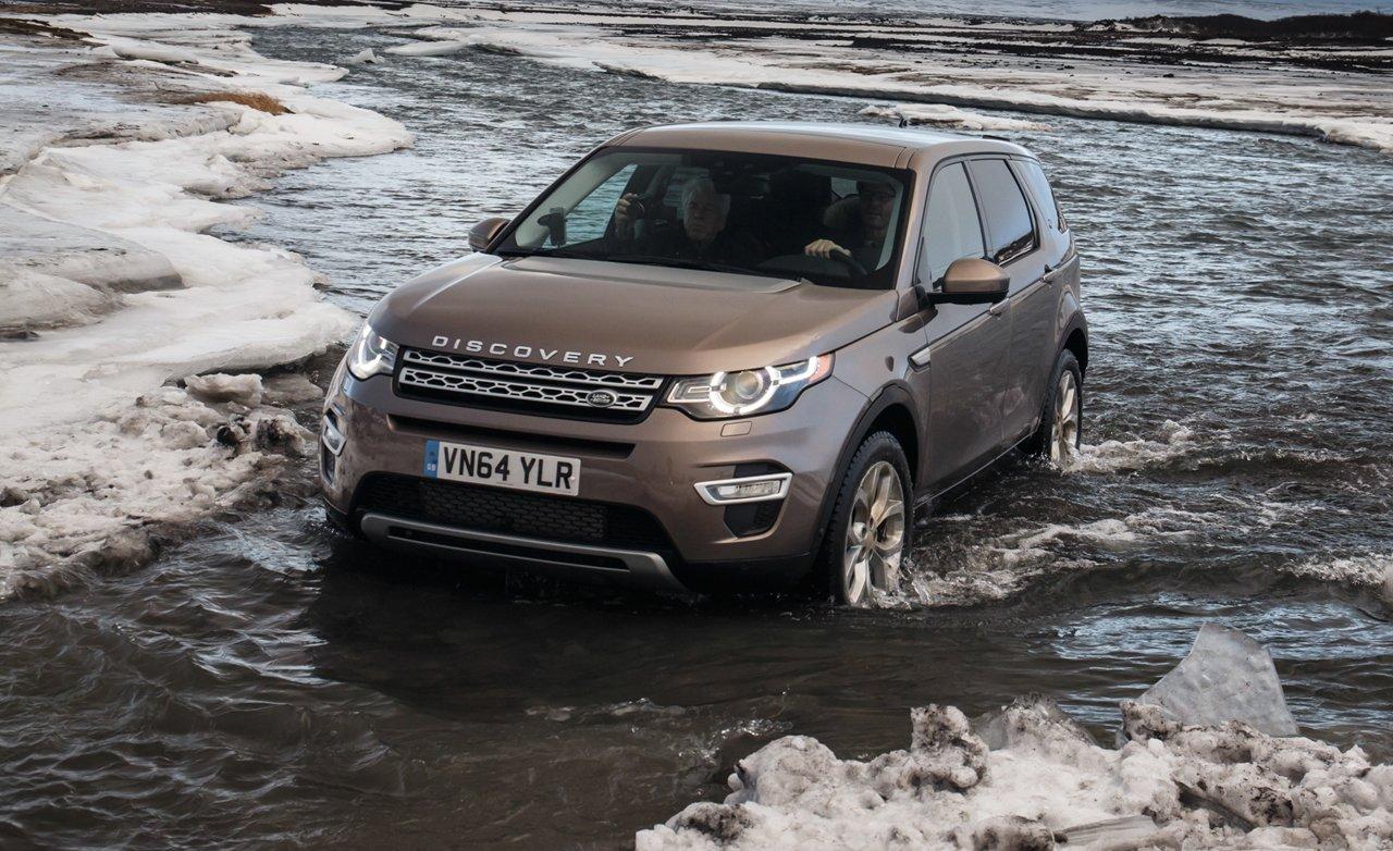 Лэнд-Ровер Discovery Sport адаптировали крусской зиме