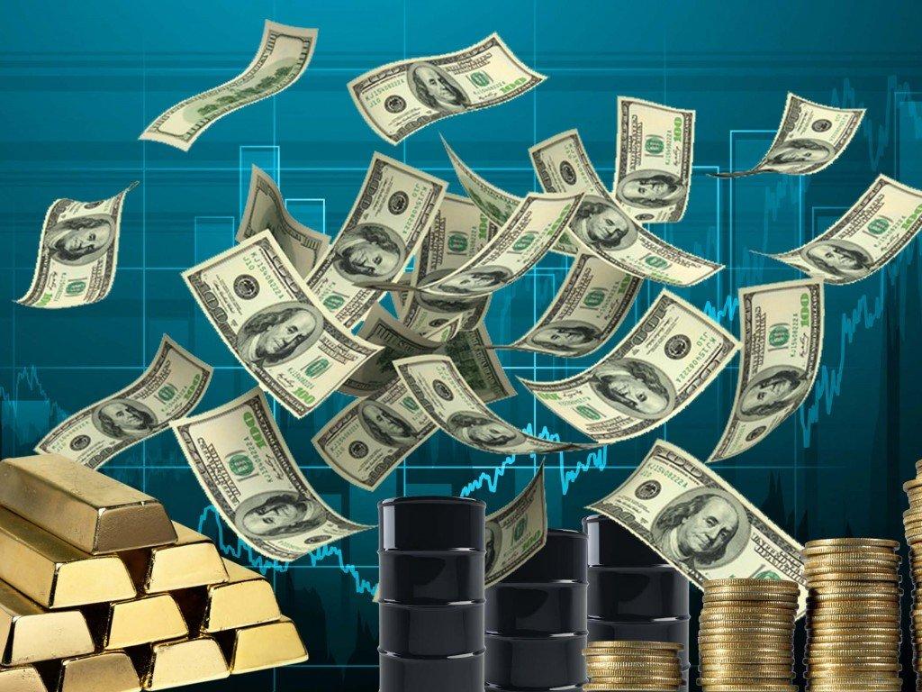 Цена нанефть WTI опустилась ниже $57 забаррель