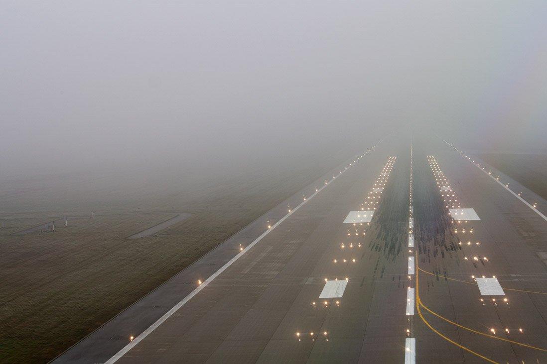 Сильный туман осложнил работу аэропорта Казани