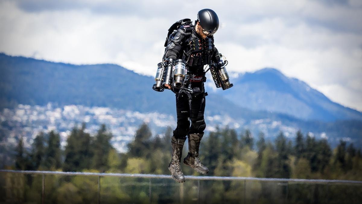 ВБритании установлен новый мировой рекорд скорости влетающем костюме