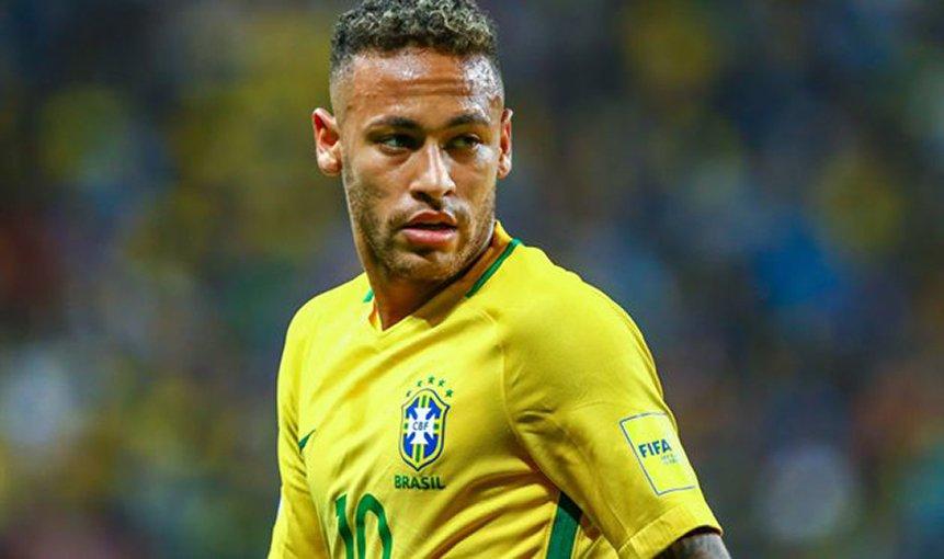 Бразильская команда неймара