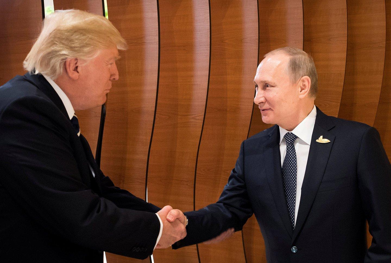 Путин и Трамп выступили с совместным заявлением  по Сирии