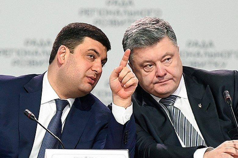 Стали известны последствия ссоры Порошенко и Гройсмана