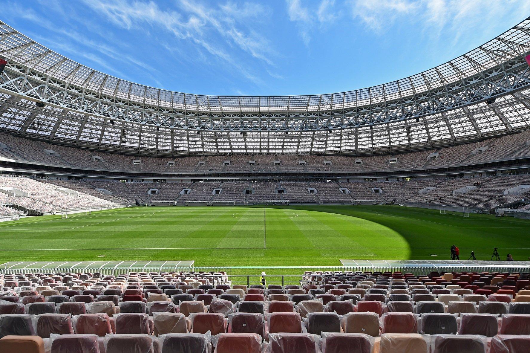 Матч открытия стадиона «Лужники» в Москве состоится сегодня