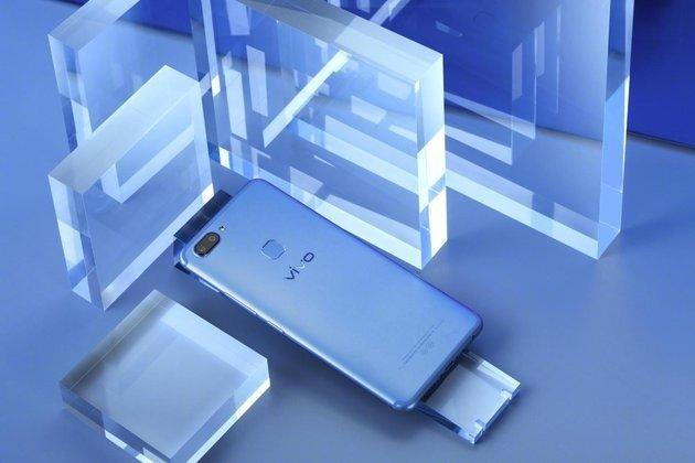 Смартфон Vivo X20 вышел в реализацию всинем цвете