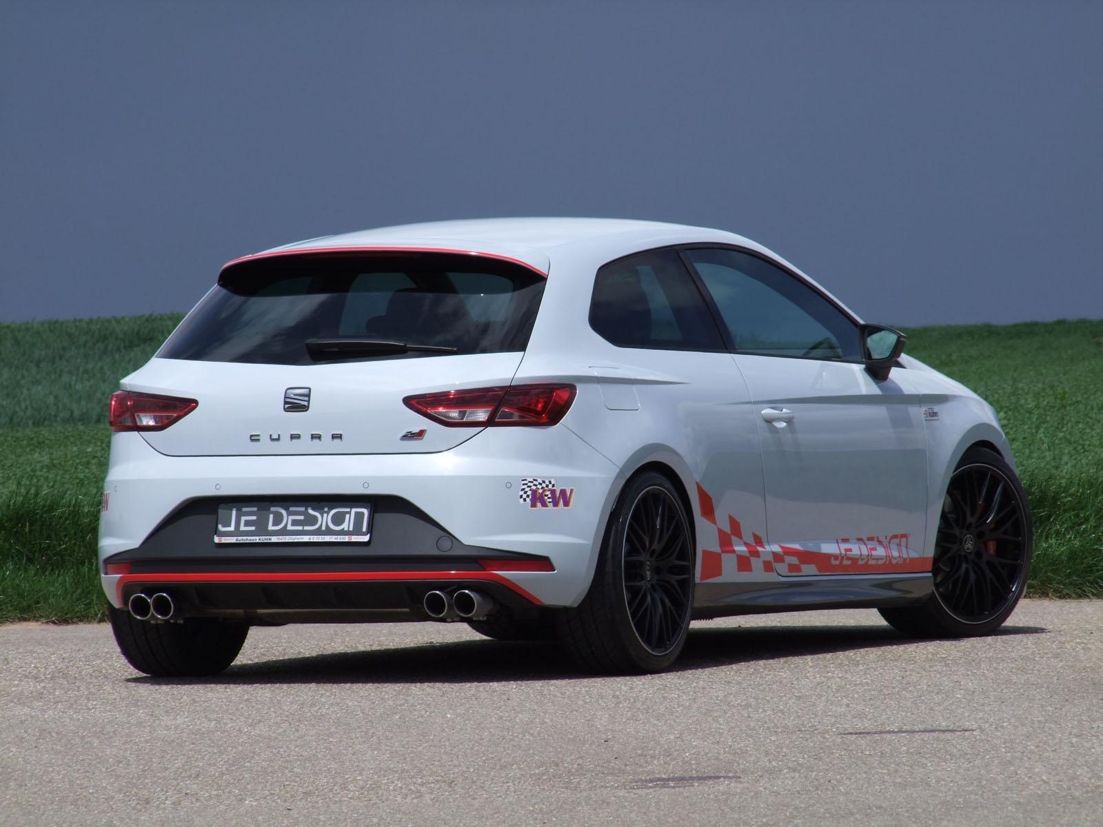 Сеат Leon Cupra JeDesign «даст прикурить» Ауди RS3 Sportback