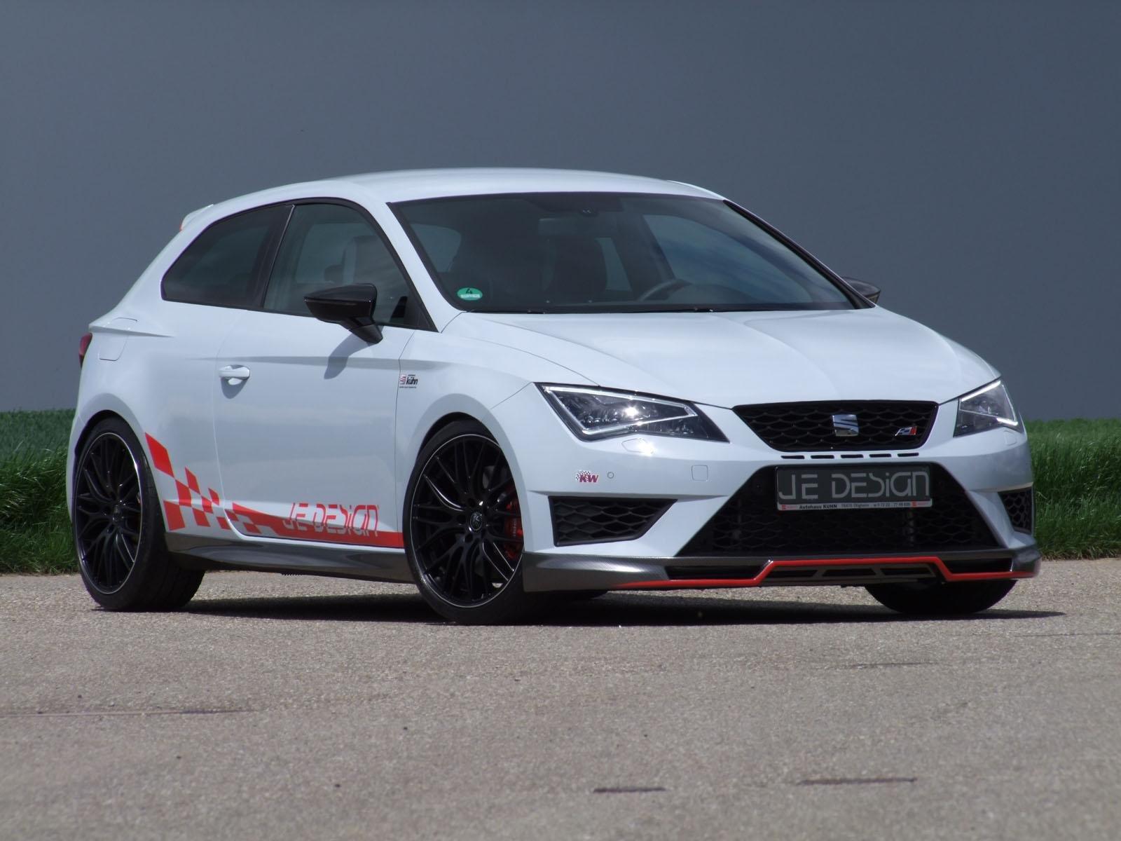 Сеат Leon Cupra JeDesign достиг производительности Ауди RS3 Sportback