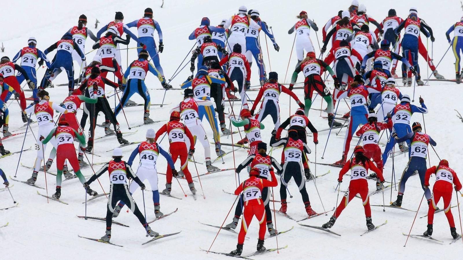 На гонках в Финляндии лыжники из России заняли все призовые места
