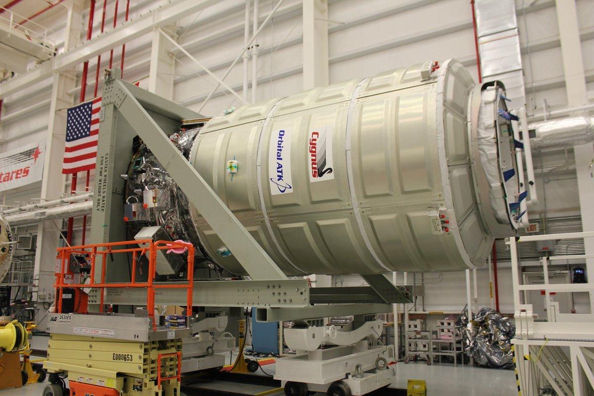 Ракета Antares сгрузом для МКС стартовала сострова Уоллопс
