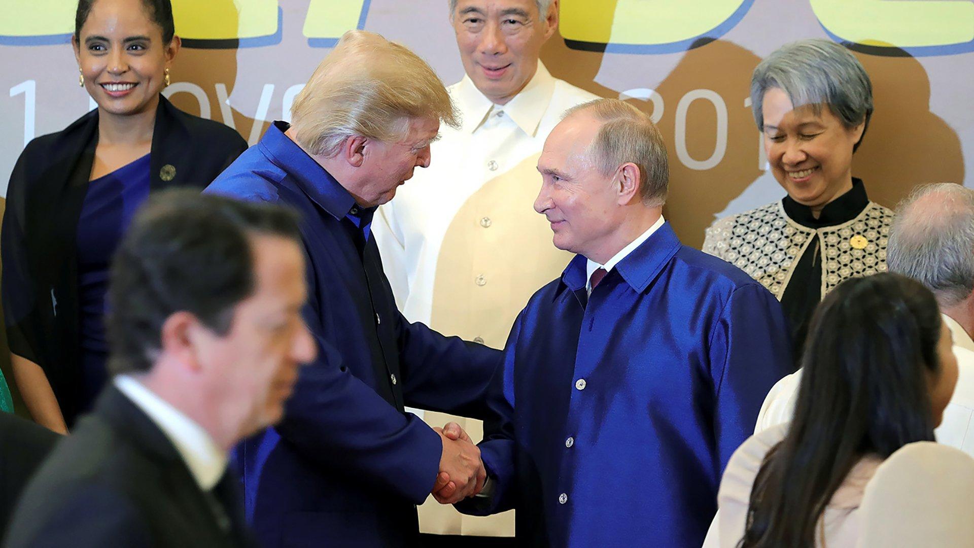 Встреча Путина и Трампа не состоялась из-за США, отметил Песков