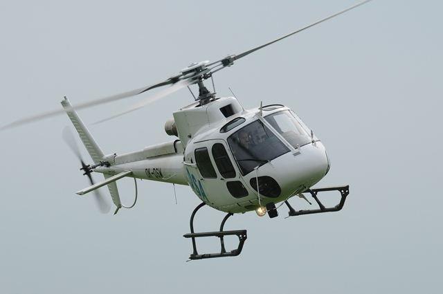 Ветер опрокинул вертолет вНенецком автономном округе после посадки