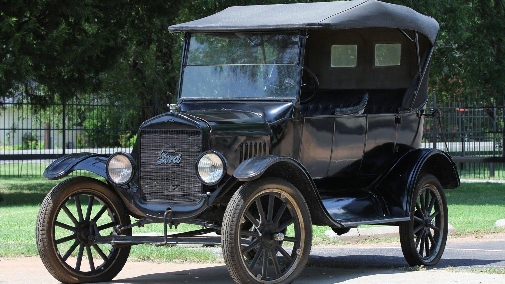 В столицеРФ реализуют Форд Model T1923 года