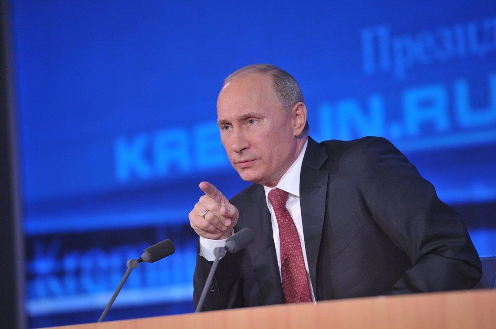 Огромная пресс-конференция Владимира Путина должна состояться 14декабря