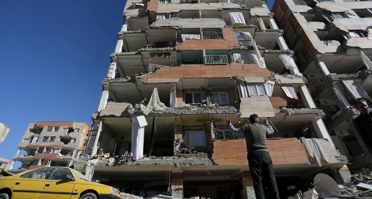 Жертвами землетрясения в Иране стали 339 человек