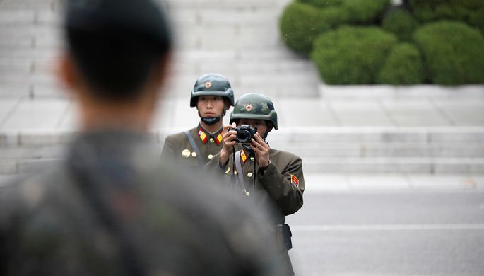 Раненый солдат КНДР сбежал в Южную Корею