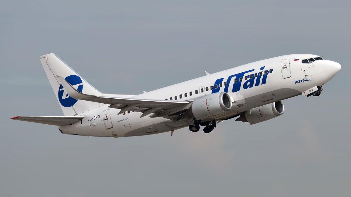 Самолет UTair едва непотерпел крушение из-за нарушения системы посадки