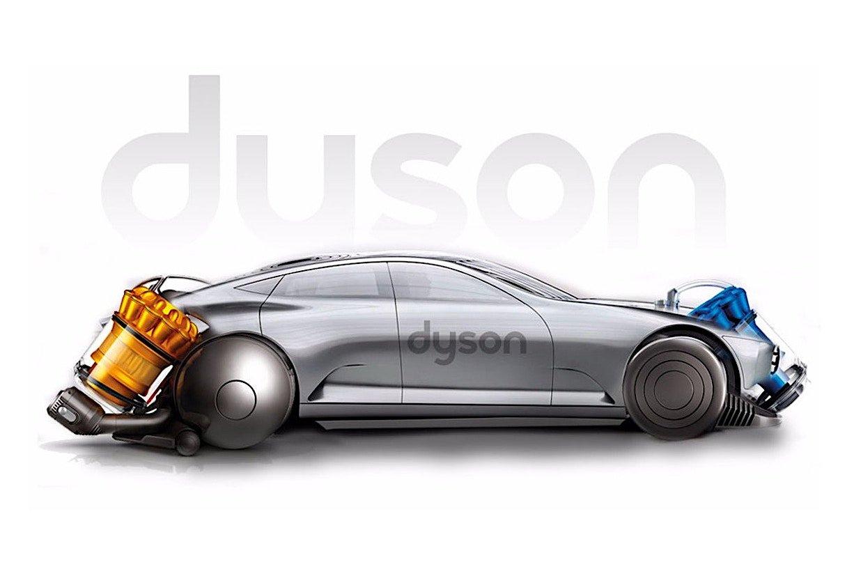 Электрокар Dyson получит системы автономного вождения