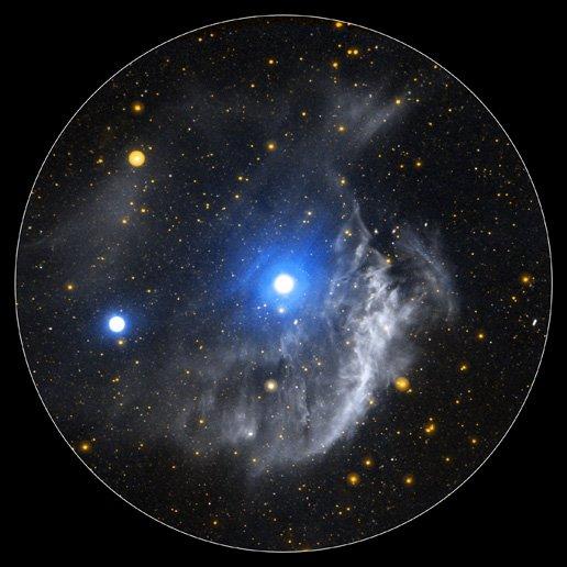 Ученые опубликовали фото с «Хаббла» с необычной «однорукой» галактикой: NGC 4618 буквально «издевается» над NGC 4625