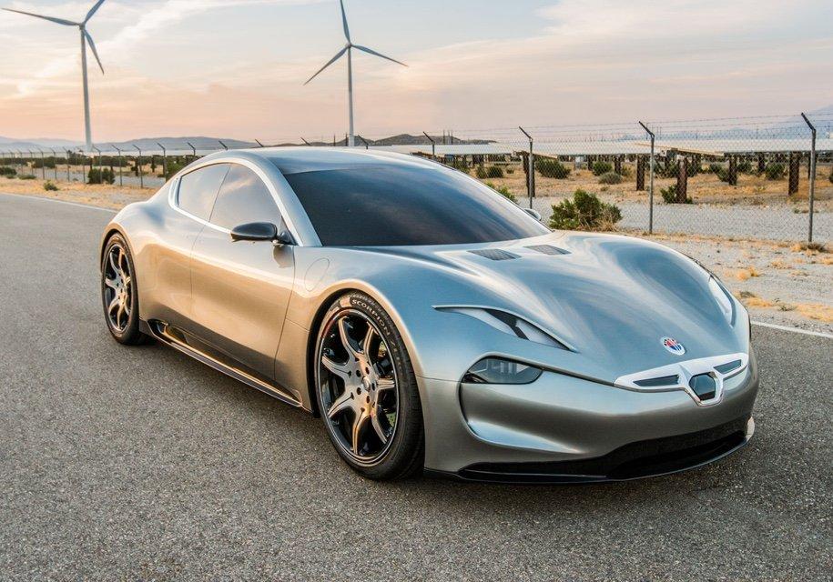 Fisker научит электромобили заряжаться всего заминуту