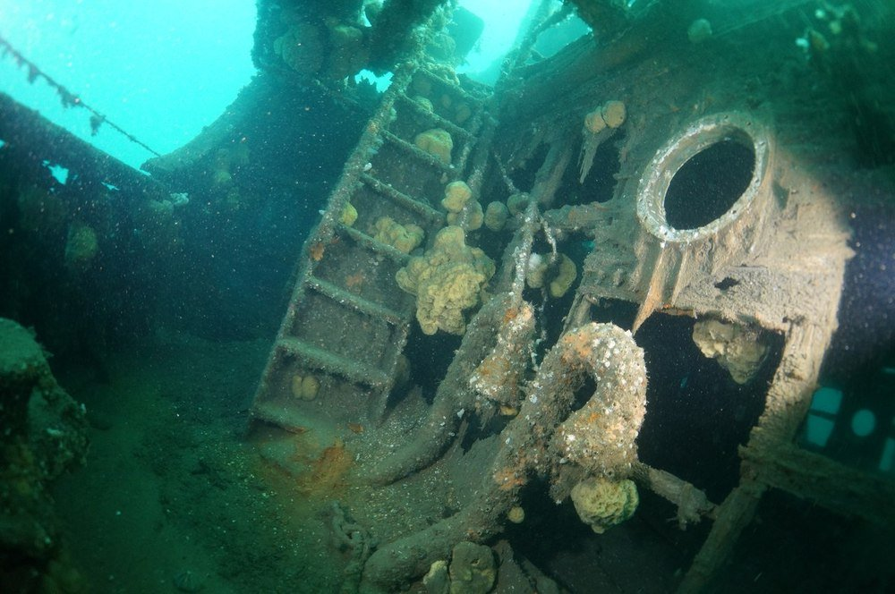 Полсотни затопленных кораблей нашли в Кольском заливе